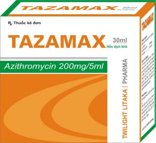 TAZAMAX 30ml DRY SUSPENSION FOR ORAL